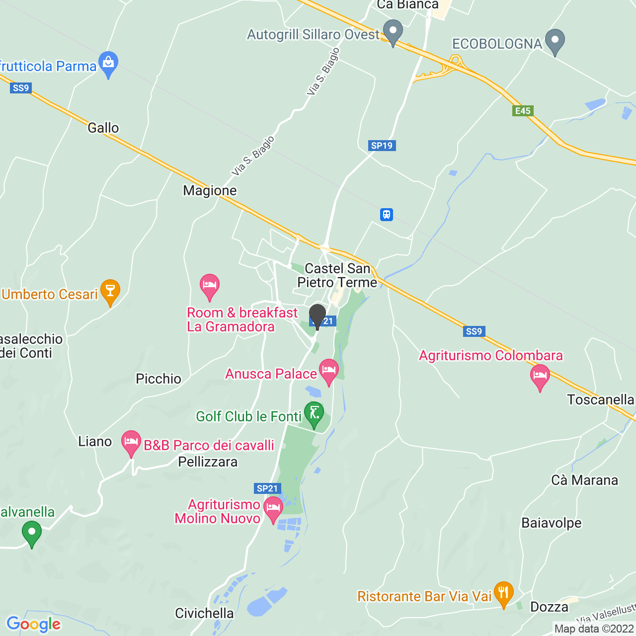 CIMITERO CASTEL SAN PIETRO TERME
