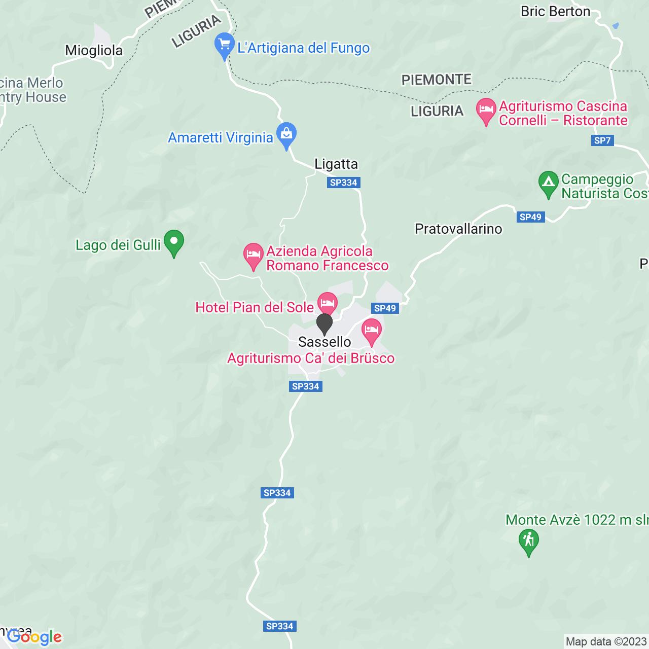 CROCE ROSSA ITALIANA - COMITATO DI SASSELLO-ORGANIZZAZIONE DI VOLONTARIATO