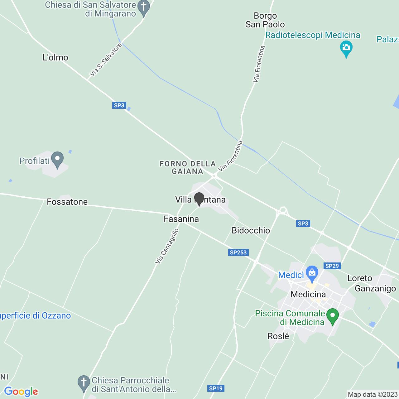 Chiesa dei Santi Giovanni Battista e Donnino di Villa Fontana