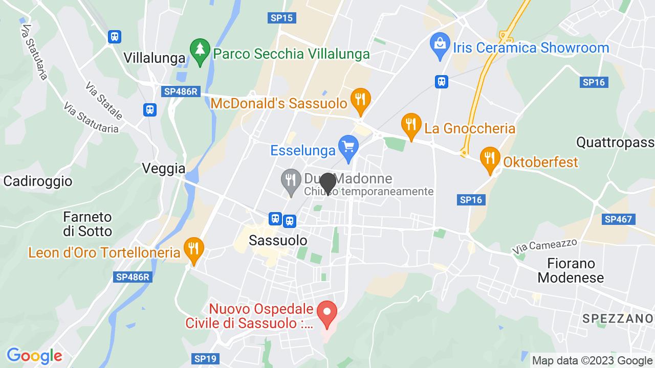 CROCE ROSSA ITALIANA - COMITATO DI SASSUOLO - ORGANIZZAZIONE DI VOLONTARIATO