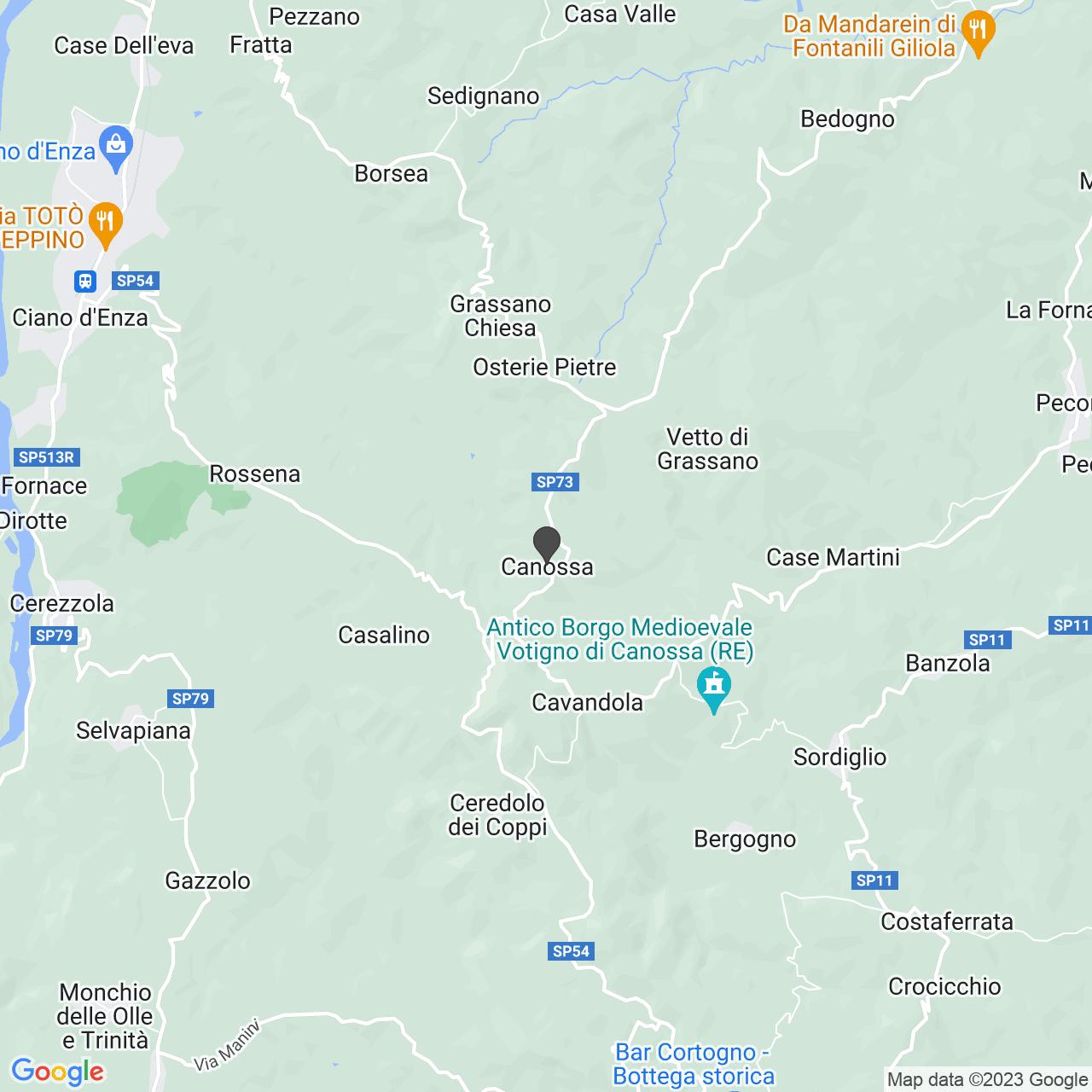 CROCE ROSSA ITALIANA - COMITATO DI CANOSSA - ORGANIZZAZIONE DI VOLONTARIATO
