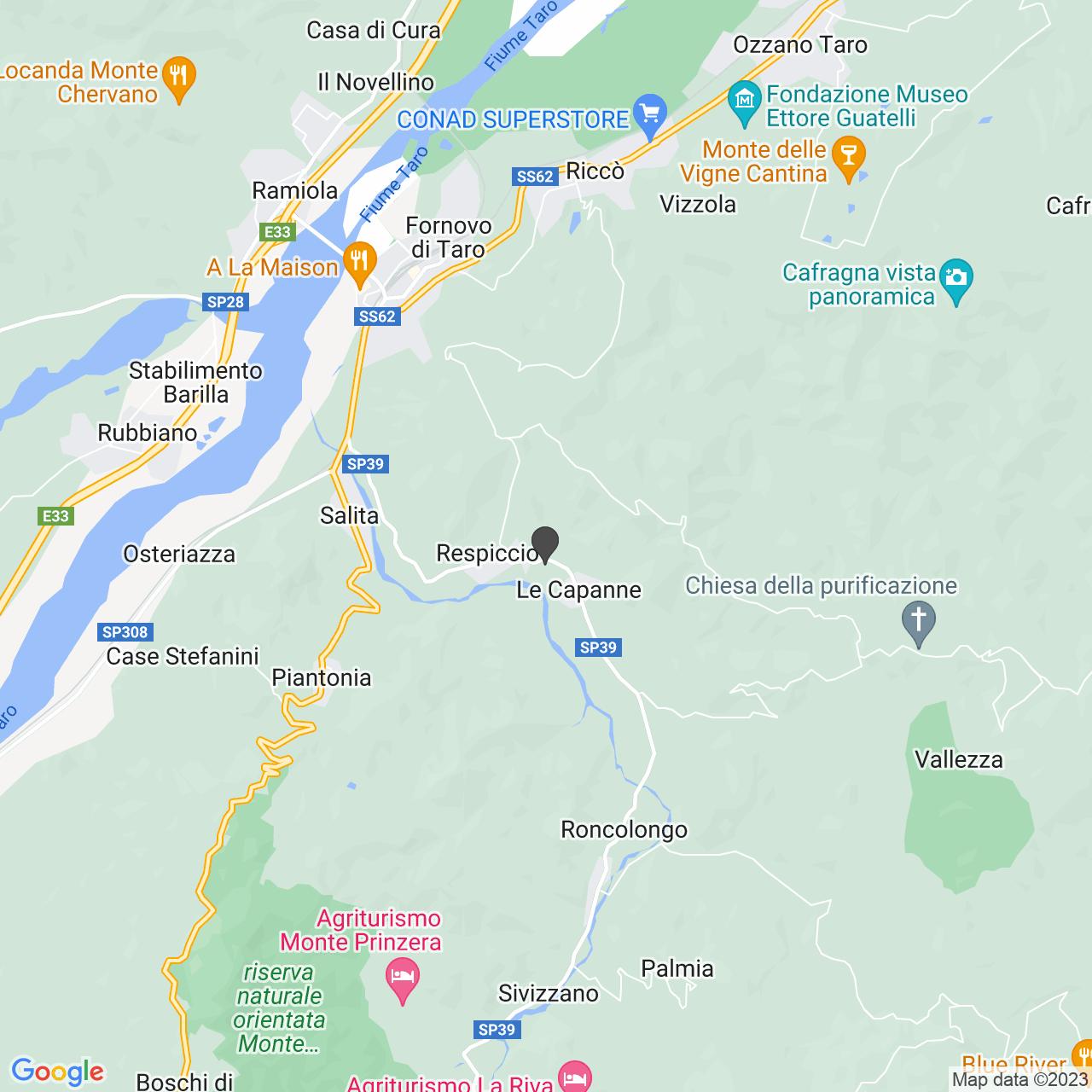 Strada Val Sporzana  (PR)