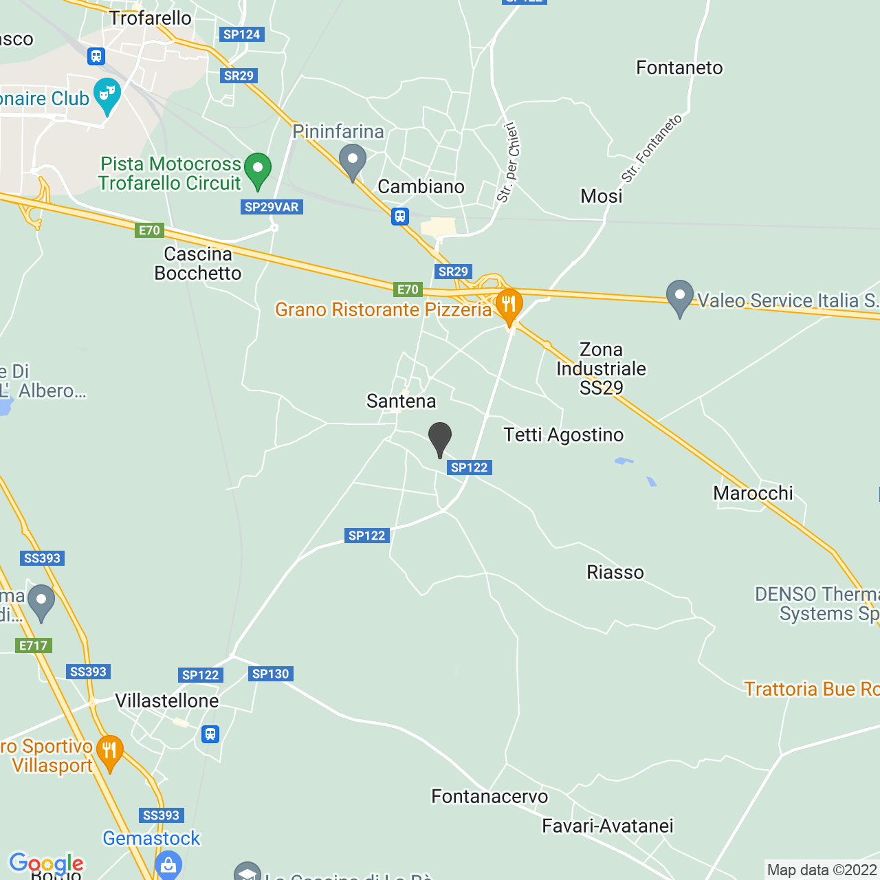 CROCE ROSSA ITALIANA - COMITATO LOCALE DI SANTENA - ORGANIZZAZIONE DI VOLONTARIATO