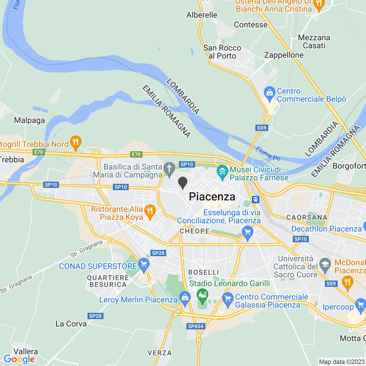 Chiesa Italia per Cristo Piacenza
