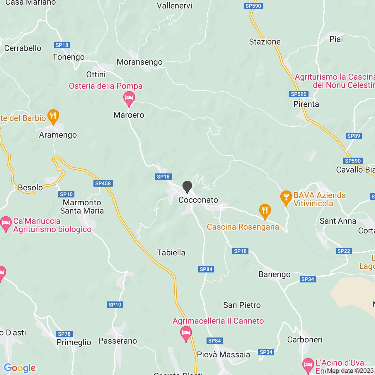 CROCE ROSSA ITALIANA - COMITATO DI COCCONATO - ORGANIZZAZIONE DI VOLONTARIATO