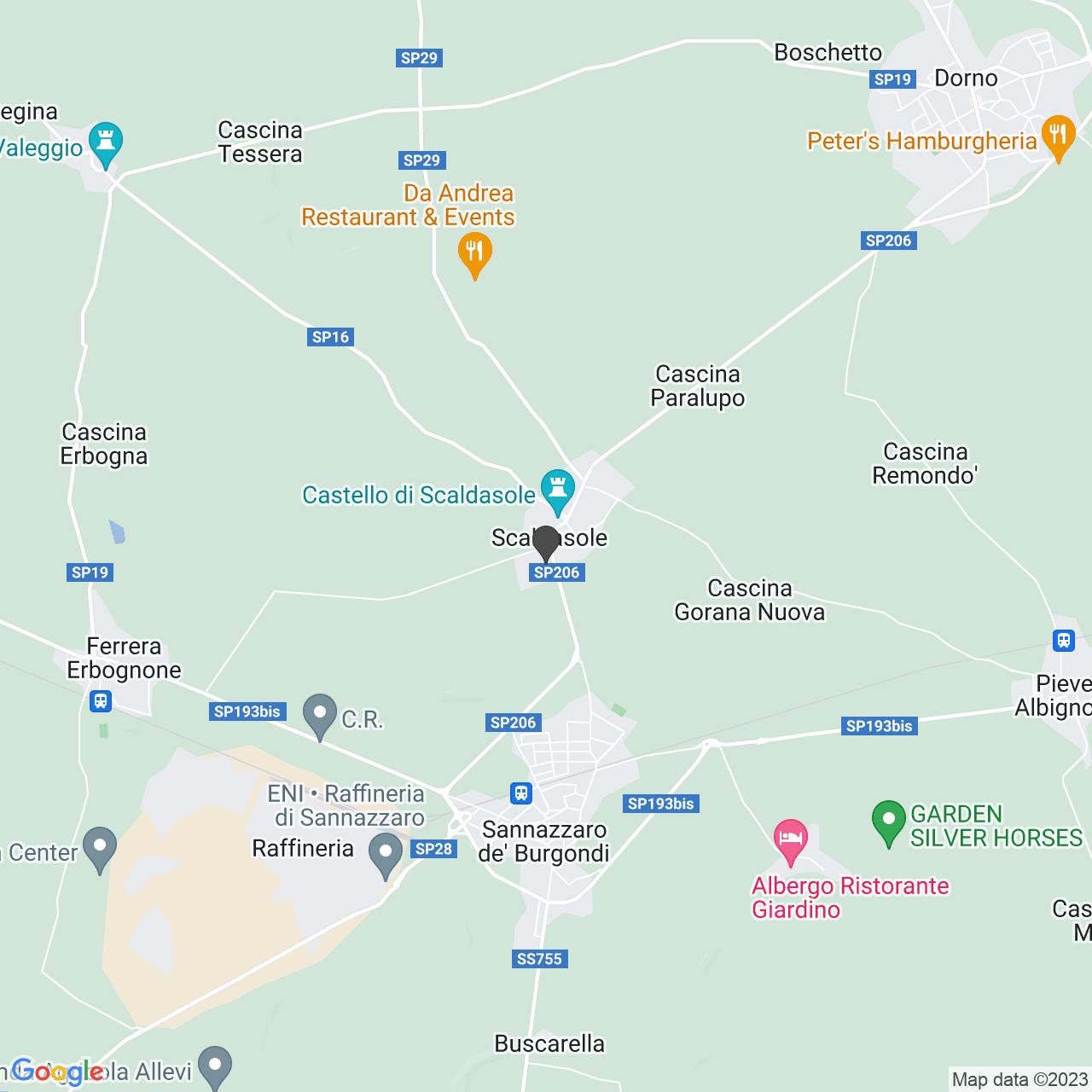 CASA DI RIPOSO SAN GIUSEPPE - FONDAZIONE GIOVANNI BISCALDI, ANGELO LUNGHI, PANIGATTI DON GIUSEPPE - ONLUS