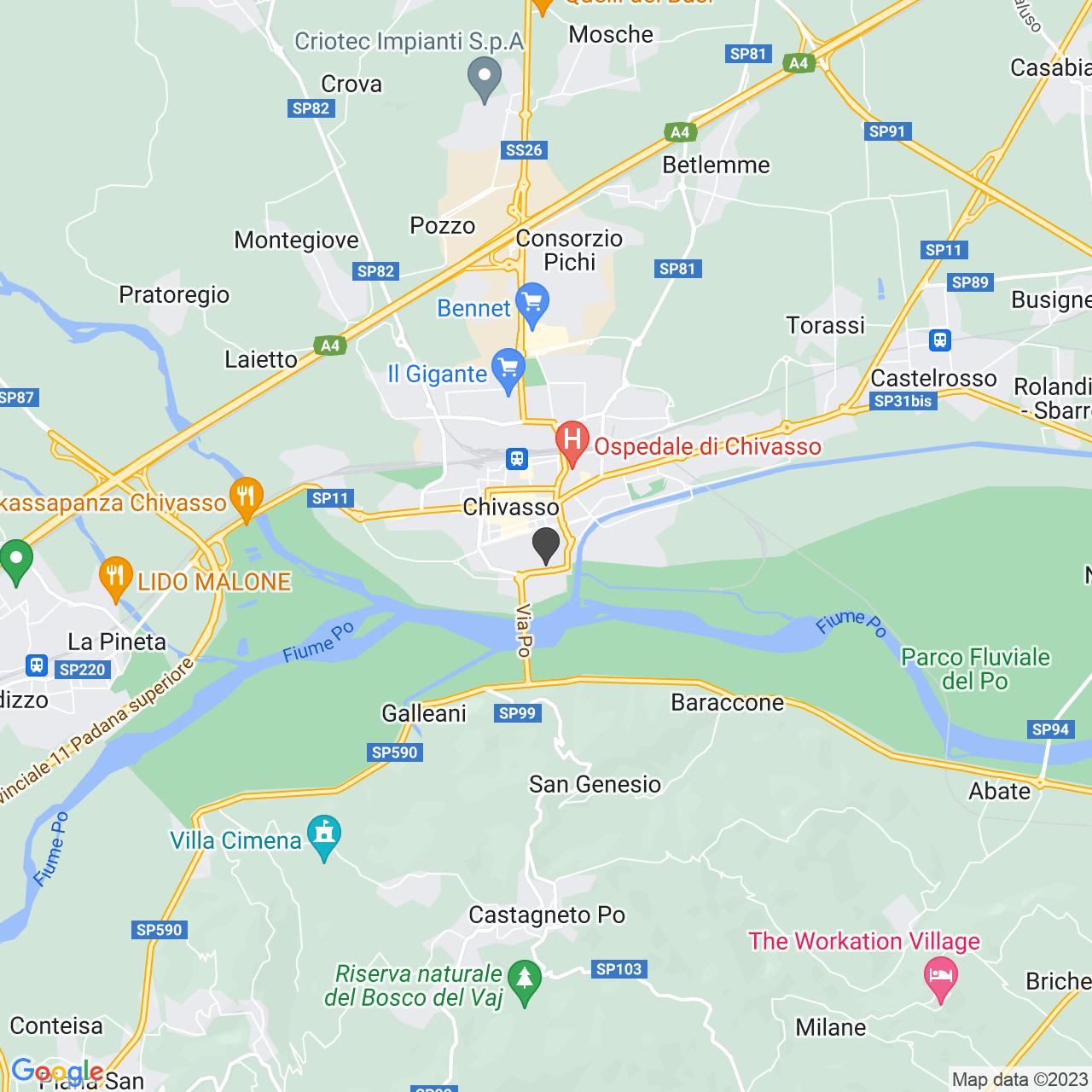 CROCE ROSSA ITALIANA - COMITATO DI CHIVASSO. - ORGANIZZAZIONE DI VOLONTARIATO