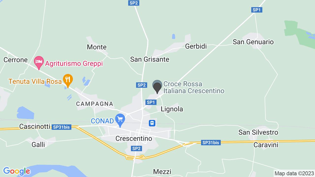 CROCE ROSSA ITALIANA - COMITATO DI CRESCENTINO - ORGANIZZAZIONE D