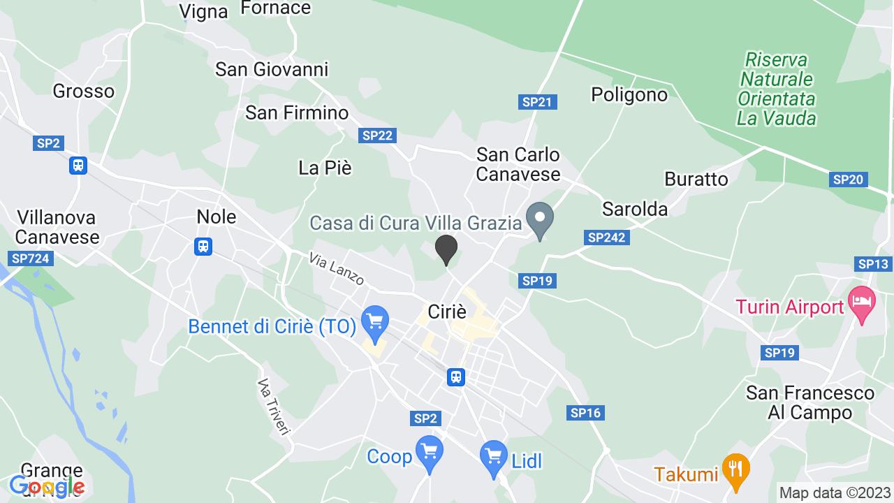 Via Corio 31 CIRIE' (TO)