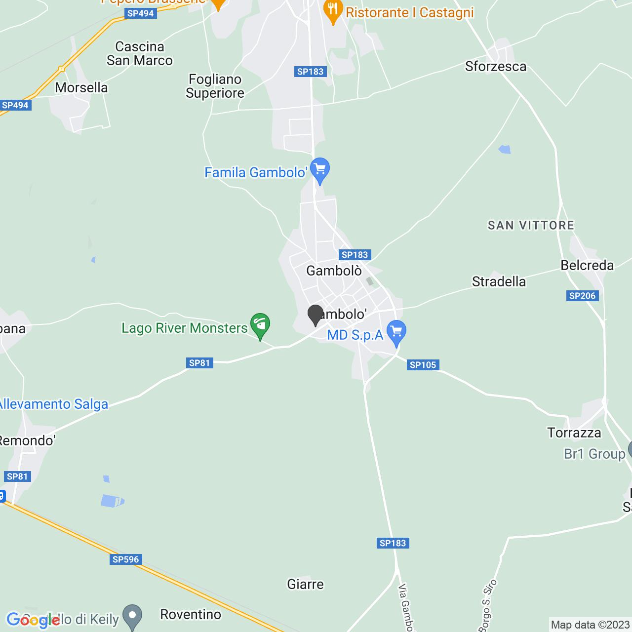 Via Cimitero 2 GAMBOLO' (PV)