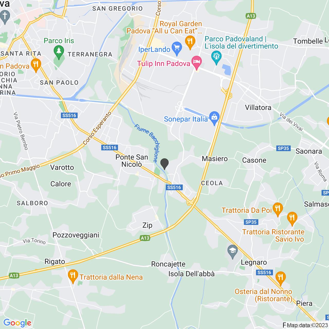 Via Sant'Urbano PONTE SAN NICOLO' (PD)