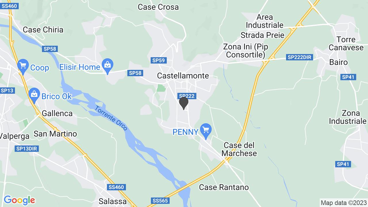 CROCE ROSSA ITALIANA - COMITATO DI CASTELLAMONTE - ORGANIZZAZIONE DI VOLONTARIATO SIGLABILE: CROCE ROSSA ITALIANA - COMITATO DI CASTELLAMONTE - ODV