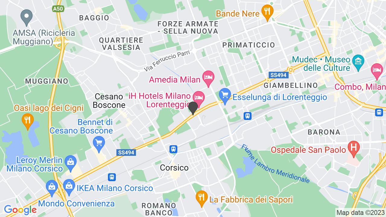 Via Giuseppe Di Vittorio 10  (MI)