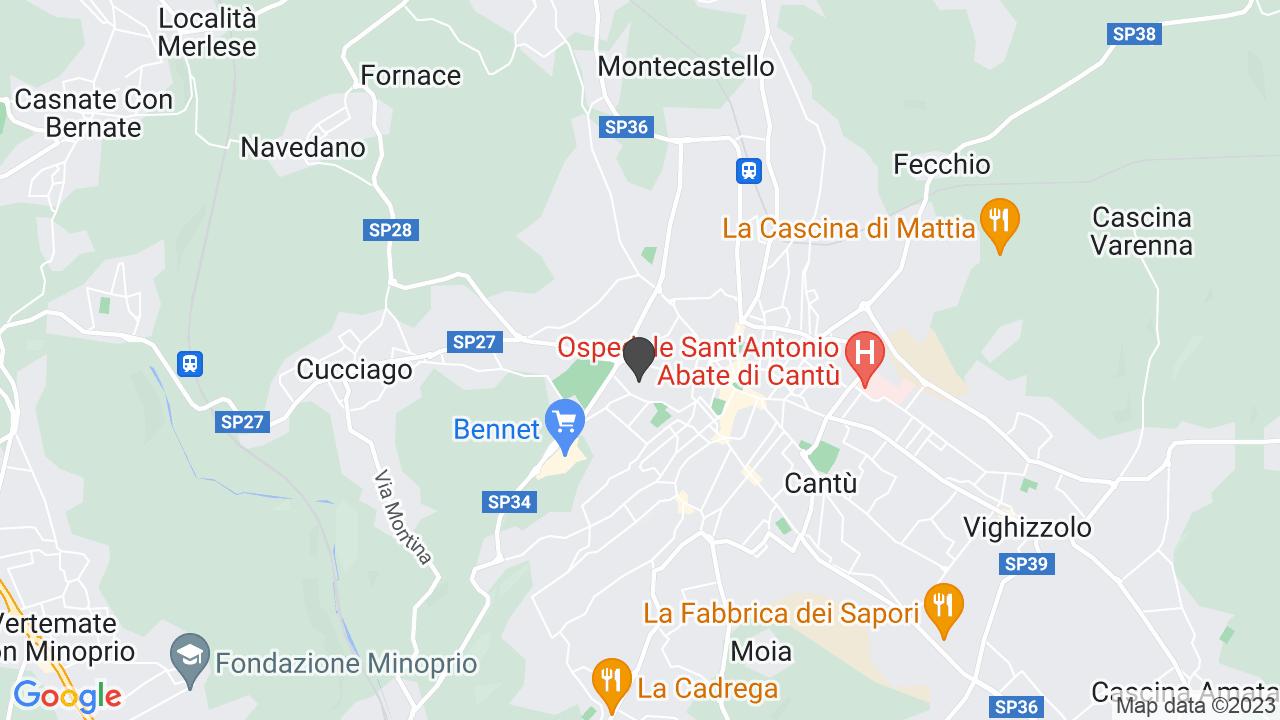 Via Cesare Cantu CANTU' (CO)
