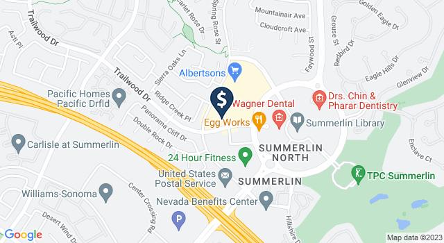 Google Map of 1970 Village Center Circle, Las Vegas, NV 89134