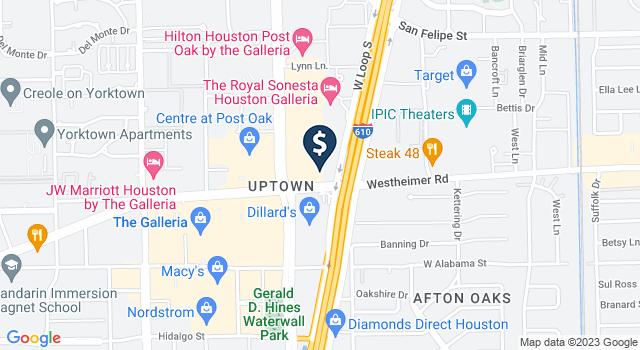 Google Map of 2500 West Loop South, Houston, TX 77027