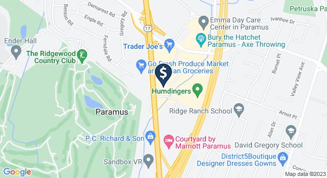 Google Map of 370 N. State Route 17, Paramus, NJ 07652