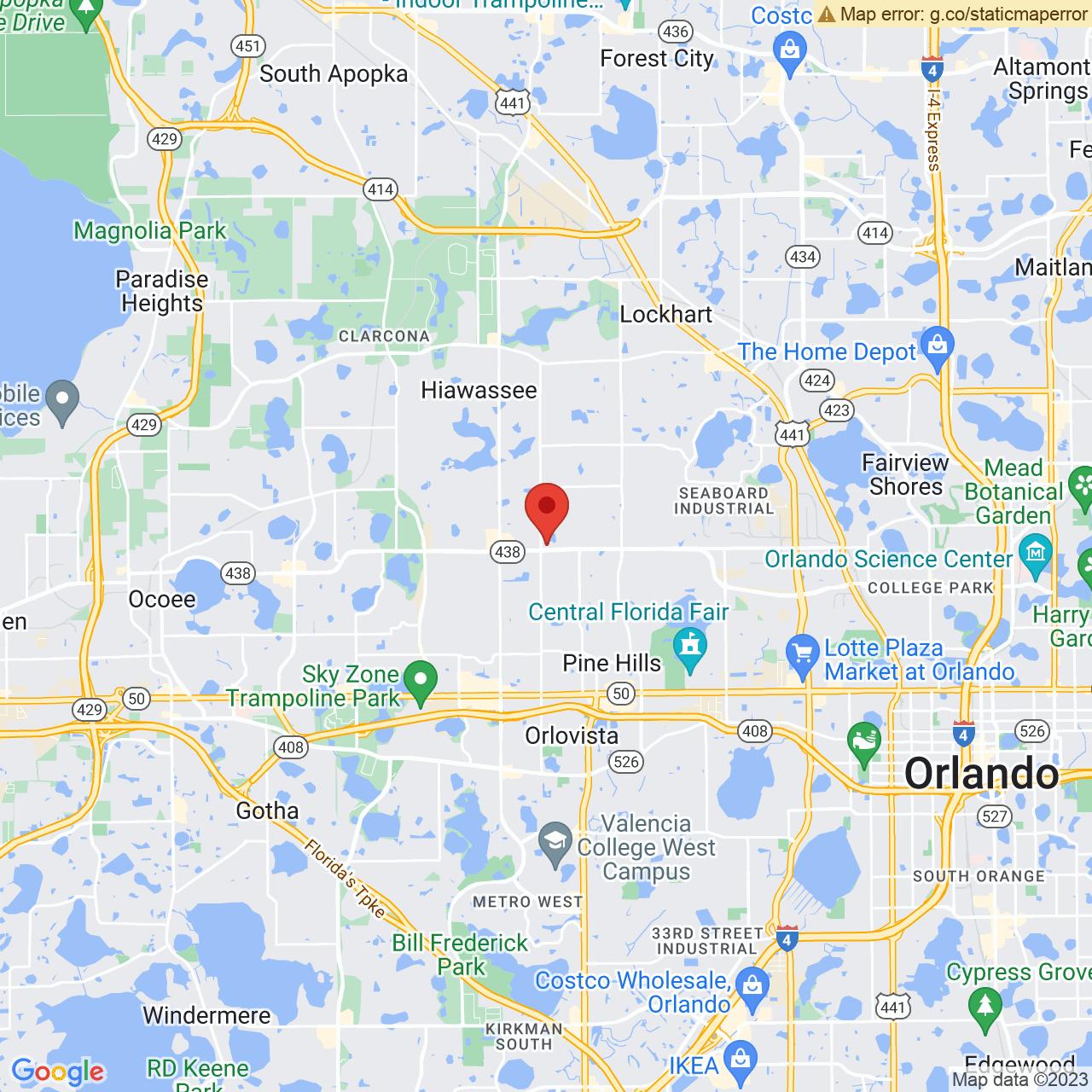 Save A Lot 6135 Silver Star Rd Orlando FL location map