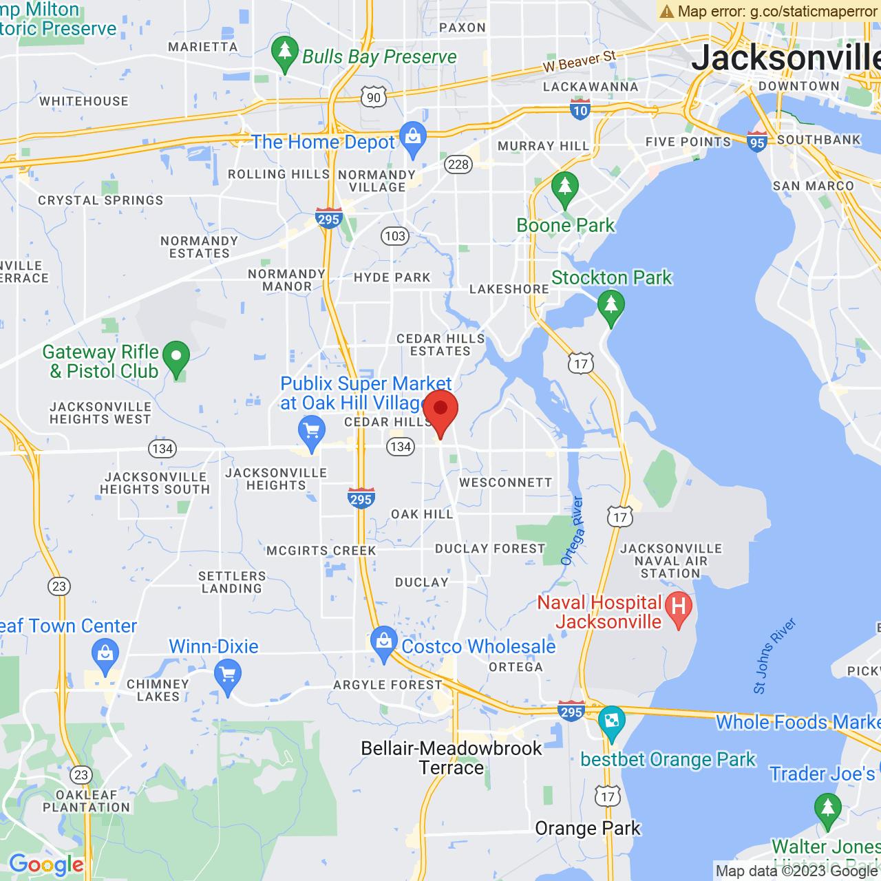 Save A Lot 5276 Blanding Blvd Jacksonville FL location map