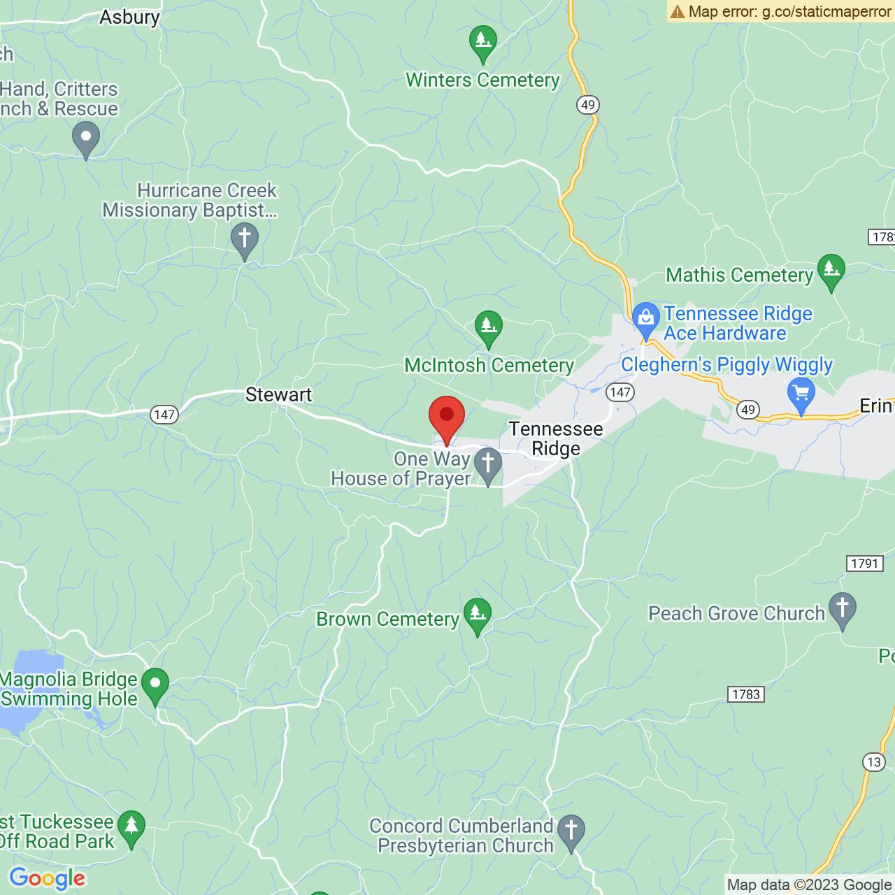 Save A Lot 11225 S Main St Tennessee Ridge TN location map