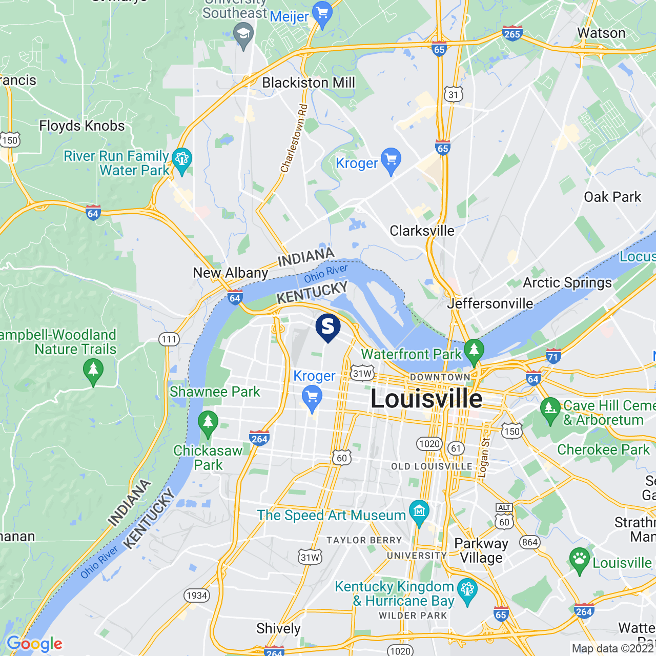 Save A Lot 2626 Portland Ave Louisville KY location map