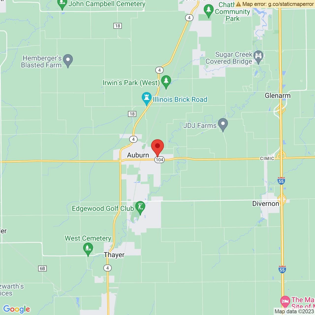 Save A Lot 700 E Jackson St Auburn IL location map