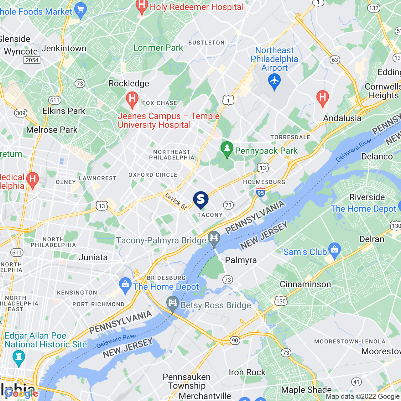 Save A Lot 6801 Frankford Ave Philadelphia PA location map