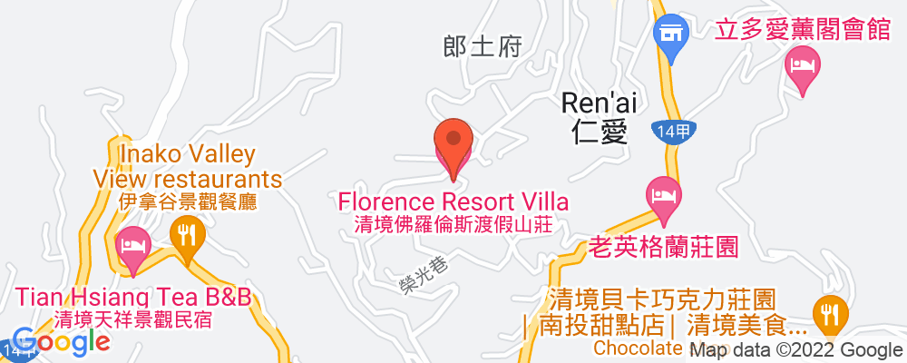Staticmap?key=aizasyaeupgg pxecbls1w90qkhpchjmzxtq1co&center=南投仁愛鄉清境農場榮光巷8 3號&zoom=15&scale=2&size=500x200&maptype=roadmap&format=png&visual refresh=true&markers=size:mid%7ccolor:0xfb5937%7clabel:%7c南投仁愛鄉清境農場榮光巷8 3號