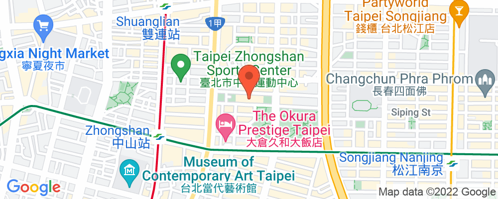 Staticmap?key=aizasyaeupgg pxecbls1w90qkhpchjmzxtq1co&center=台北市中山北路二段39巷3號&zoom=15&scale=2&size=500x200&maptype=roadmap&format=png&visual refresh=true&markers=size:mid%7ccolor:0xfb5937%7clabel:%7c台北市中山北路二段39巷3號