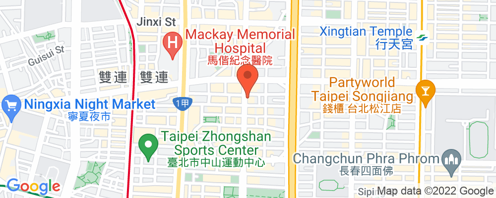 Staticmap?key=aizasyaeupgg pxecbls1w90qkhpchjmzxtq1co&center=台北市中山區林森北路359號&zoom=15&scale=2&size=500x200&maptype=roadmap&format=png&visual refresh=true&markers=size:mid%7ccolor:0xfb5937%7clabel:%7c台北市中山區林森北路359號