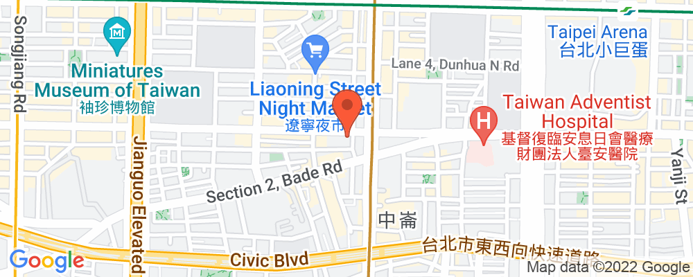 Staticmap?key=aizasyaeupgg pxecbls1w90qkhpchjmzxtq1co&center=台北市中山區長安東路二段246號3樓&zoom=15&scale=2&size=500x200&maptype=roadmap&format=png&visual refresh=true&markers=size:mid%7ccolor:0xfb5937%7clabel:%7c台北市中山區長安東路二段246號3樓