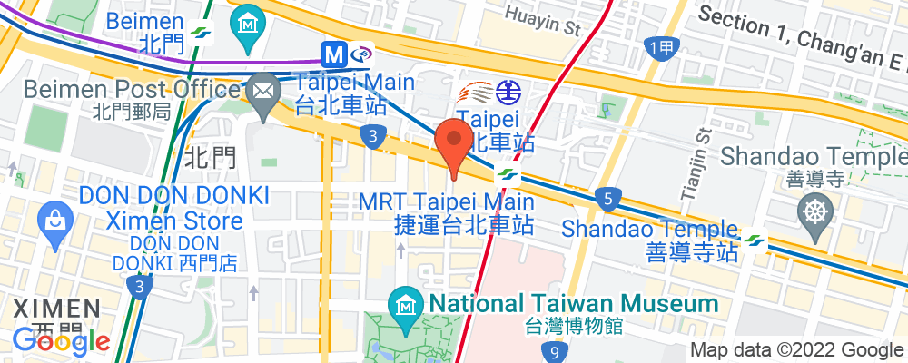 Staticmap?key=aizasyaeupgg pxecbls1w90qkhpchjmzxtq1co&center=台北市中正區忠孝西路一段38號&zoom=15&scale=2&size=500x200&maptype=roadmap&format=png&visual refresh=true&markers=size:mid%7ccolor:0xfb5937%7clabel:%7c台北市中正區忠孝西路一段38號