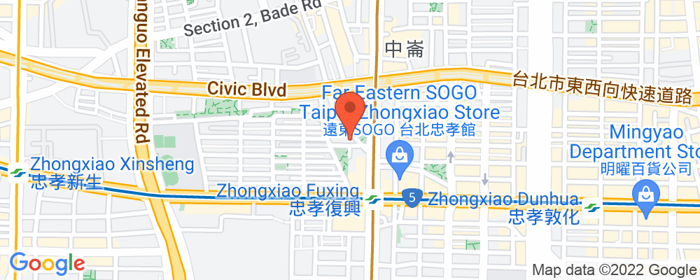 Staticmap?key=aizasyaeupgg pxecbls1w90qkhpchjmzxtq1co&center=台北市復興南路一段126巷1號3樓&zoom=15&scale=2&size=500x200&maptype=roadmap&format=png&visual refresh=true&markers=size:mid%7ccolor:0xfb5937%7clabel:%7c台北市復興南路一段126巷1號3樓