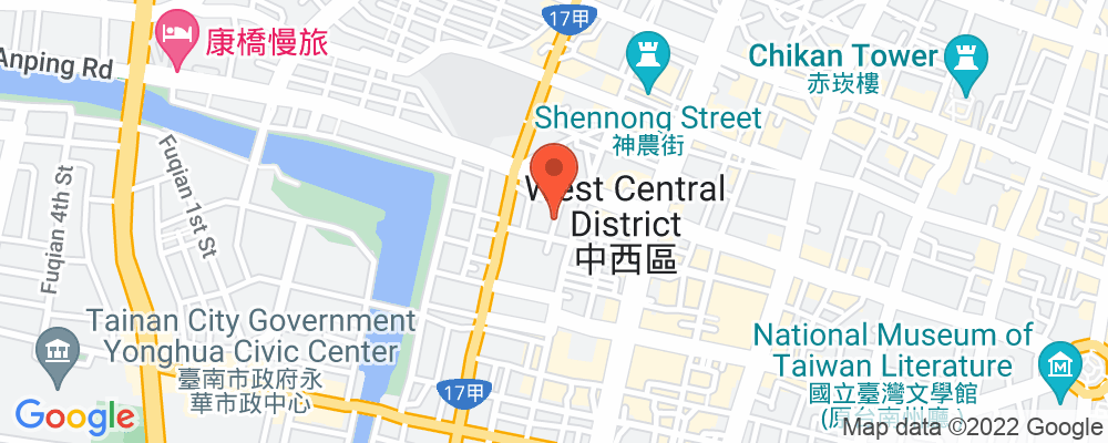 Staticmap?key=aizasyaeupgg pxecbls1w90qkhpchjmzxtq1co&center=台南市中西區民生路二段173巷10號&zoom=15&scale=2&size=500x200&maptype=roadmap&format=png&visual refresh=true&markers=size:mid%7ccolor:0xfb5937%7clabel:%7c台南市中西區民生路二段173巷10號
