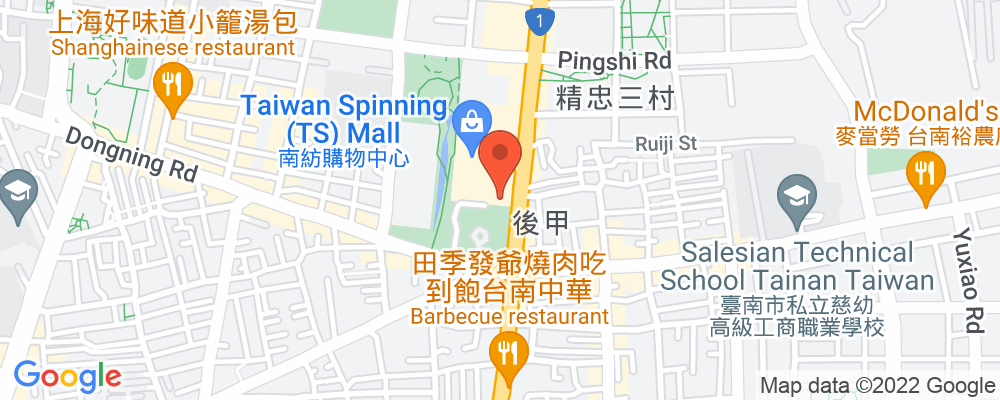 Staticmap?key=aizasyaeupgg pxecbls1w90qkhpchjmzxtq1co&center=台南市東區中華東路一段368號&zoom=15&scale=2&size=500x200&maptype=roadmap&format=png&visual refresh=true&markers=size:mid%7ccolor:0xfb5937%7clabel:%7c台南市東區中華東路一段368號