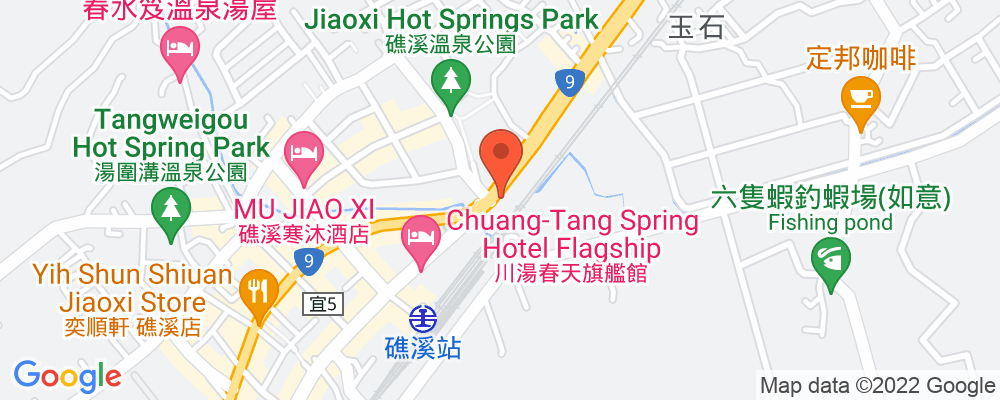 Staticmap?key=aizasyaeupgg pxecbls1w90qkhpchjmzxtq1co&center=台灣宜蘭縣礁溪鄉礁溪路六段6號&zoom=15&scale=2&size=500x200&maptype=roadmap&format=png&visual refresh=true&markers=size:mid%7ccolor:0xfb5937%7clabel:%7c台灣宜蘭縣礁溪鄉礁溪路六段6號