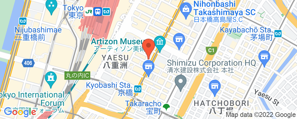 Staticmap?key=aizasyaeupgg pxecbls1w90qkhpchjmzxtq1co&center=東京都中央区京橋1 3 6&zoom=15&scale=2&size=500x200&maptype=roadmap&format=png&visual refresh=true&markers=size:mid%7ccolor:0xfb5937%7clabel:%7c東京都中央区京橋1 3 6
