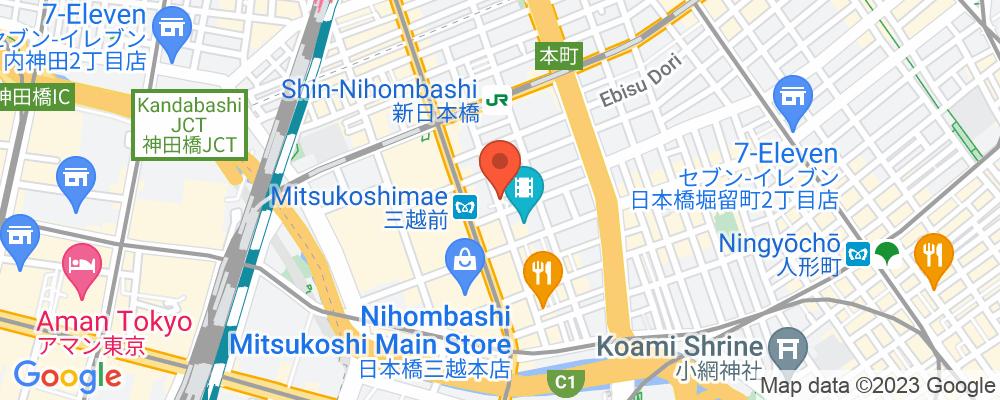 Staticmap?key=aizasyaeupgg pxecbls1w90qkhpchjmzxtq1co&center=東京都中央区日本橋室町2 1 1&zoom=15&scale=2&size=500x200&maptype=roadmap&format=png&visual refresh=true&markers=size:mid%7ccolor:0xfb5937%7clabel:%7c東京都中央区日本橋室町2 1 1