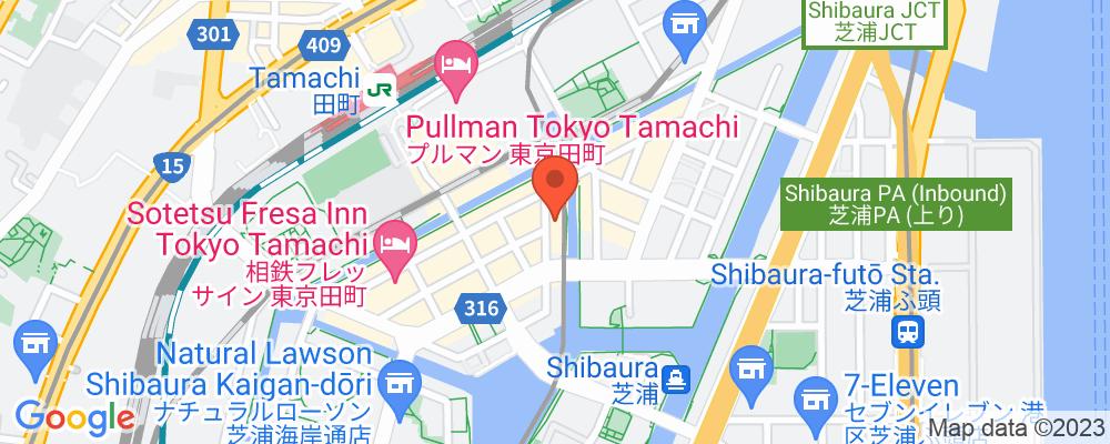 Staticmap?key=aizasyaeupgg pxecbls1w90qkhpchjmzxtq1co&center=東京都港区芝浦3 8 1&zoom=15&scale=2&size=500x200&maptype=roadmap&format=png&visual refresh=true&markers=size:mid%7ccolor:0xfb5937%7clabel:%7c東京都港区芝浦3 8 1