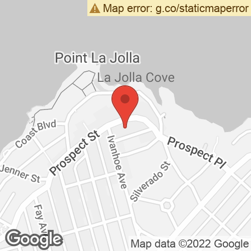 Map To: 1227 Prospect Street, La Jolla, CA 92037