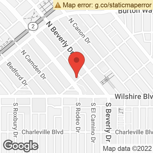 Map To: 206 North Rodeo Drive, Beverly Hills, CA 90210