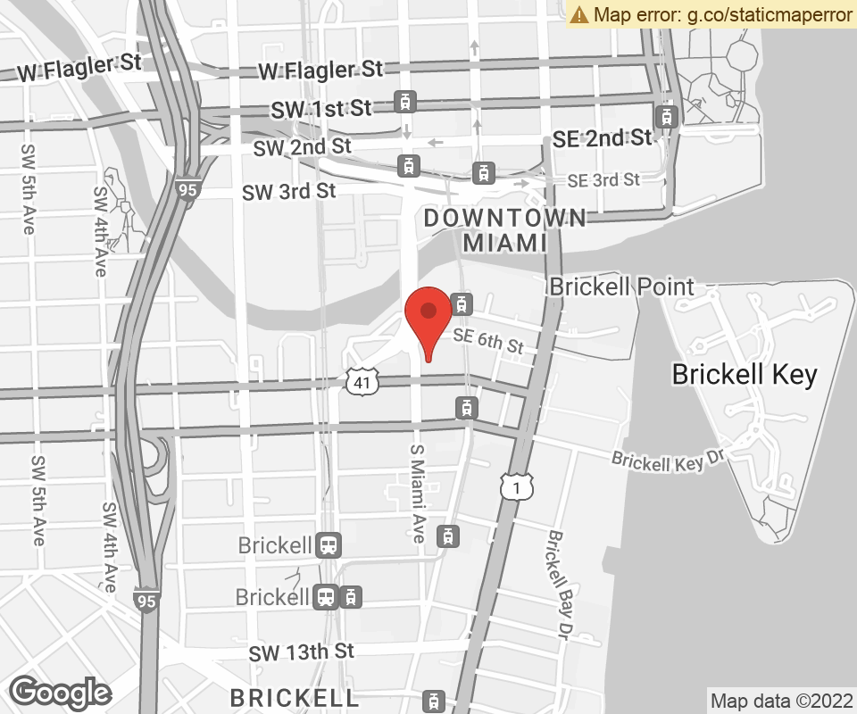 Map To: 701 South Miami Avenue, Miami, FL 33131