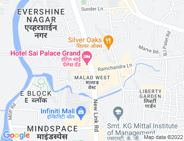 Flat on rent in Orlem, Malad West