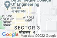 Location - Reliable Plaza, Airoli