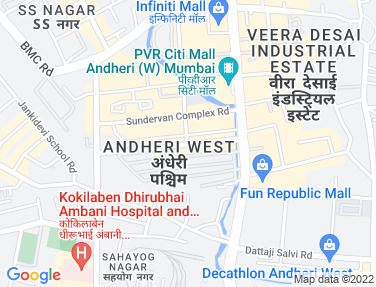 Office on rent in Crystal Paradise Mall, Andheri West