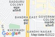 Location - Rajiv Society, Bandra East