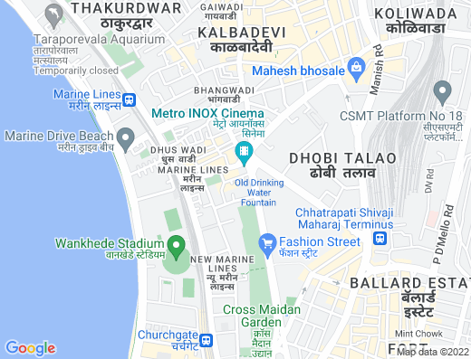 Flat for sale in Jehangir Mansion, Marine Lines
