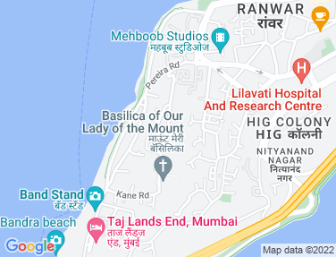 Flat on rent in Rose Niketan, Bandra West