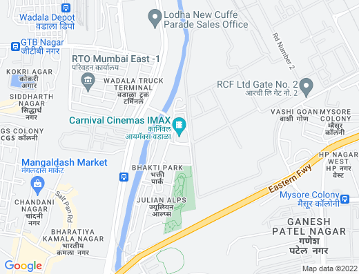 Flat on rent in Ajmera Bhakti Park, Wadala