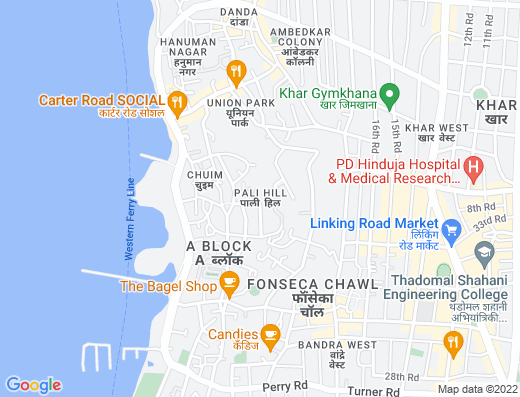 Flat on rent in Maria Apartments, Bandra West